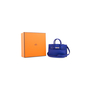 Authentic Second Hand Hermès Bleu Electrique Micro Birkin (PSS-200-01653) - Thumbnail 9