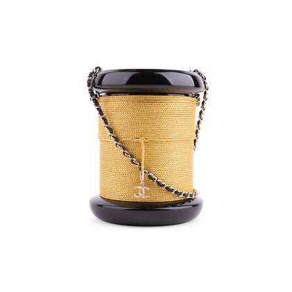 Authentic Second Hand Chanel Bobbin Spool Minaudiere (PSS-200-01659)