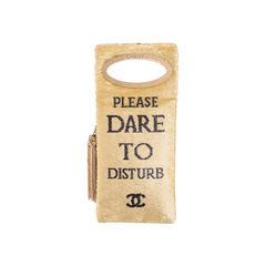 Please Do Not Disturb Clutch Bag