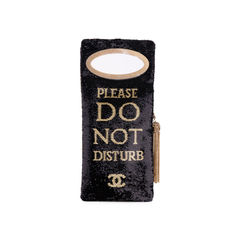 Chanel please do not disturb clutch bag 2?1555051182