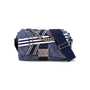 Authentic Second Hand Chanel Chanel Airlines Denim and Toile Flap Bag (PSS-200-01669) - Thumbnail 0