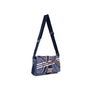 Authentic Second Hand Chanel Chanel Airlines Denim and Toile Flap Bag (PSS-200-01669) - Thumbnail 3