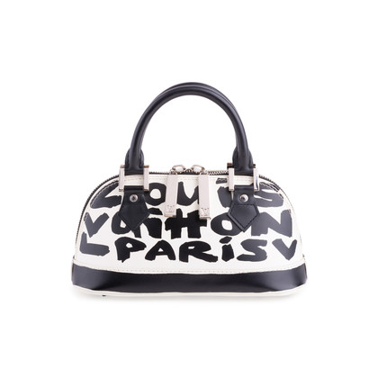 Authentic Second Hand Louis Vuitton Graffiti Noir PM Bag (PSS-200-01678)