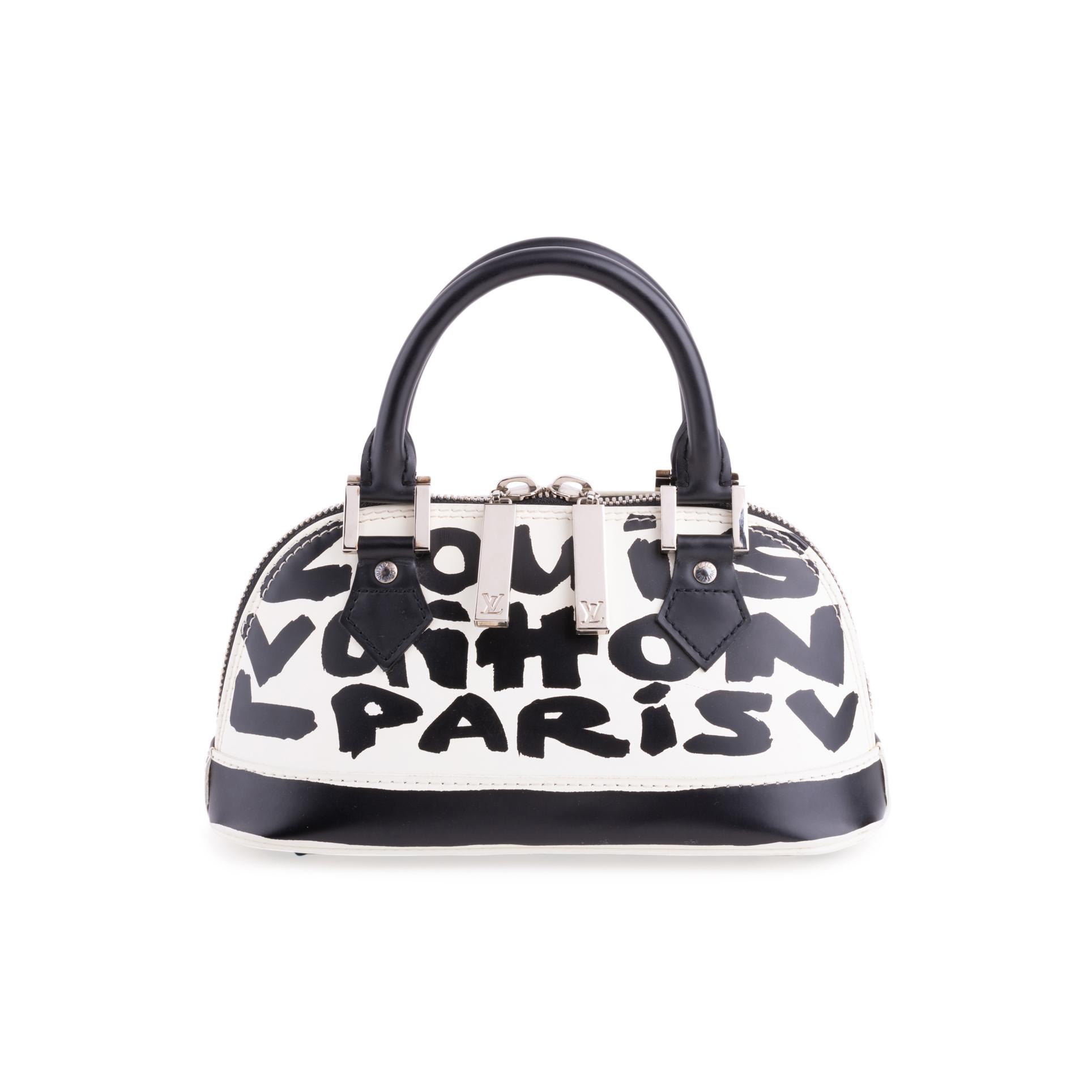 7bec87b6933e Authentic Second Hand Louis Vuitton Graffiti Noir PM Bag (PSS-200-01678)