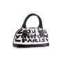 Authentic Second Hand Louis Vuitton Graffiti Noir PM Bag (PSS-200-01678) - Thumbnail 1