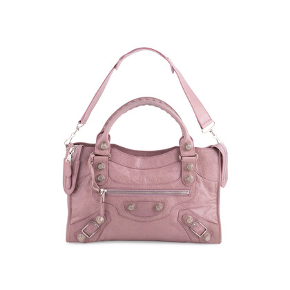 Authentic Second Hand Balenciaga Lilac Giant City Bag (PSS-445-00018)