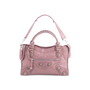 Authentic Second Hand Balenciaga Lilac Giant City Bag (PSS-445-00018) - Thumbnail 0