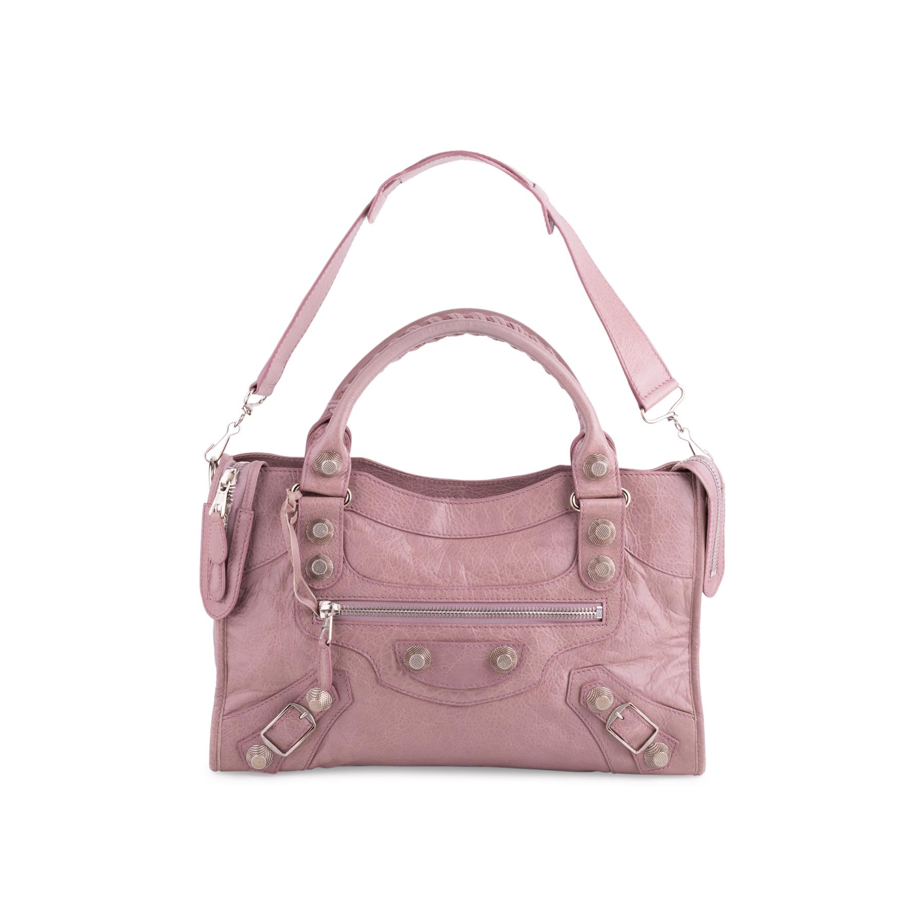 de1cd3477d5e Authentic Second Hand Balenciaga Lilac Giant City Bag (PSS-445-00018 ...
