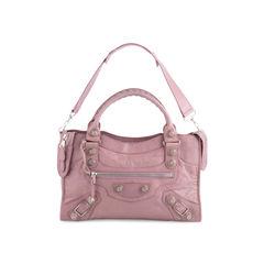 Lilac Giant City Bag