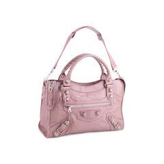 Balenciaga lilac giant city bag 2?1555295868