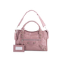Authentic Second Hand Balenciaga Lilac Giant City Bag (PSS-445-00018) - Thumbnail 3
