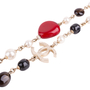 Authentic Second Hand Chanel Cruise 2014 Bead and Faux Pearl Necklace (PSS-445-00019) - Thumbnail 7