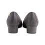 Authentic Second Hand Chanel Gold Cap Toe Pumps (PSS-643-00005) - Thumbnail 3
