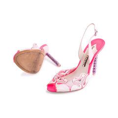 Sophia webster flamingo slingback sandals 2?1555296811