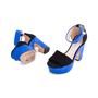 Authentic Second Hand Nicholas Kirkwood Maya Pearl Block Heel Sandals (PSS-643-00004) - Thumbnail 1