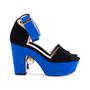 Authentic Second Hand Nicholas Kirkwood Maya Pearl Block Heel Sandals (PSS-643-00004) - Thumbnail 4