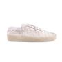 Authentic Second Hand Saint Laurent Star Appliqué Sneakers (PSS-643-00006) - Thumbnail 4
