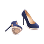 Authentic Second Hand Charlotte Olympia Suede Dotty 125 Pumps (PSS-643-00009) - Thumbnail 2