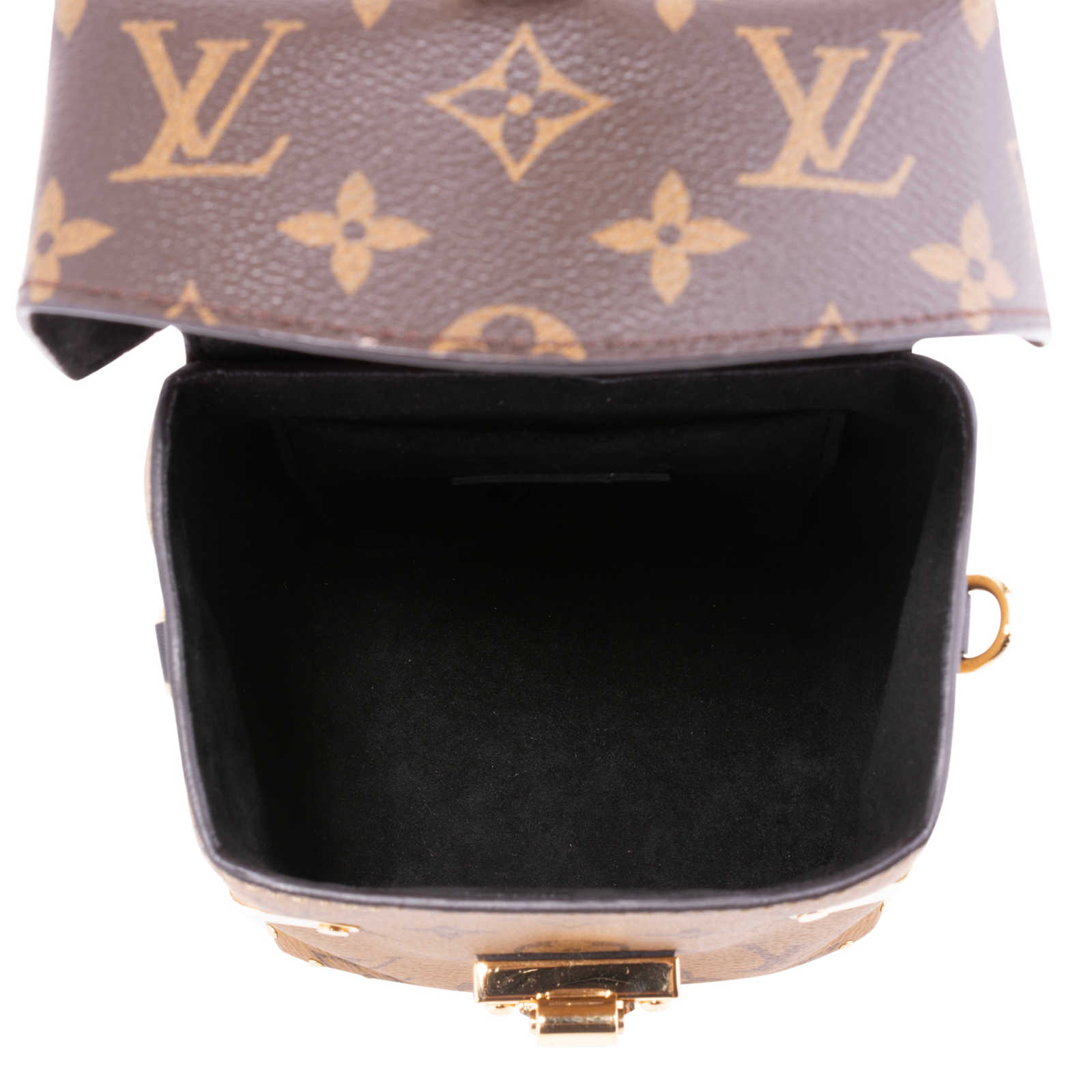 2124966d034 ... Authentic Second Hand Louis Vuitton Reverse Monogram Camera Box Bag  (PSS-200-01674 ...