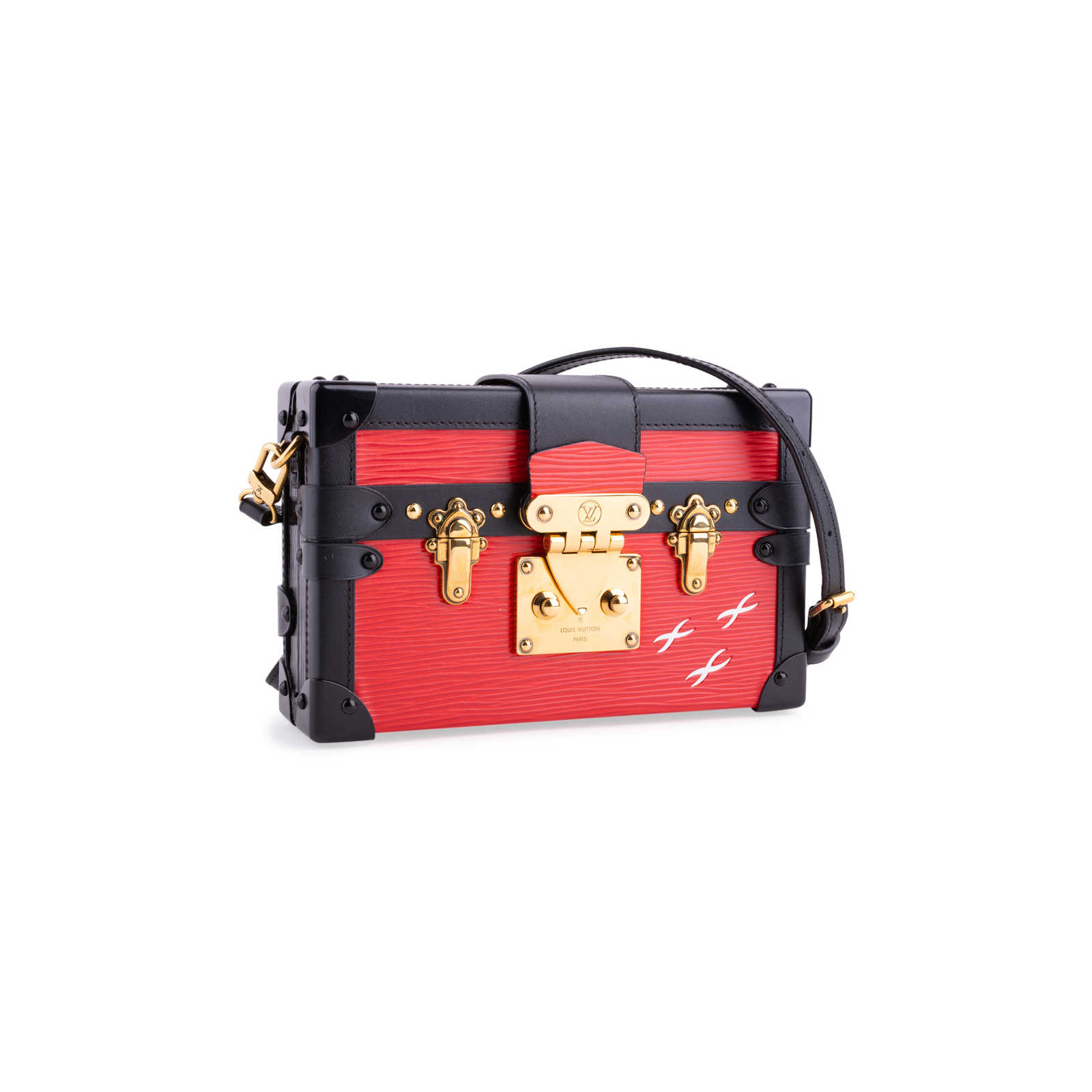 aaef435f14ed ... Authentic Second Hand Louis Vuitton Epi Petite Malle (PSS-200-01676) ...