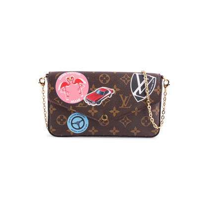 Authentic Second Hand Louis Vuitton Monogram World Tour Pochette Felicie (PSS-200-01679)