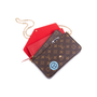 Authentic Second Hand Louis Vuitton Monogram World Tour Pochette Felicie (PSS-200-01679) - Thumbnail 7