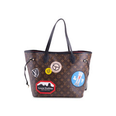 Monogram World Tour Neverful MM Bag