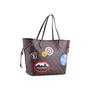 Authentic Second Hand Louis Vuitton Monogram World Tour Neverfull MM Bag (PSS-200-01680) - Thumbnail 1