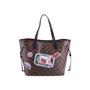 Authentic Second Hand Louis Vuitton Monogram World Tour Neverfull MM Bag (PSS-200-01680) - Thumbnail 2
