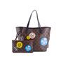 Authentic Second Hand Louis Vuitton Monogram World Tour Neverfull MM Bag (PSS-200-01680) - Thumbnail 3