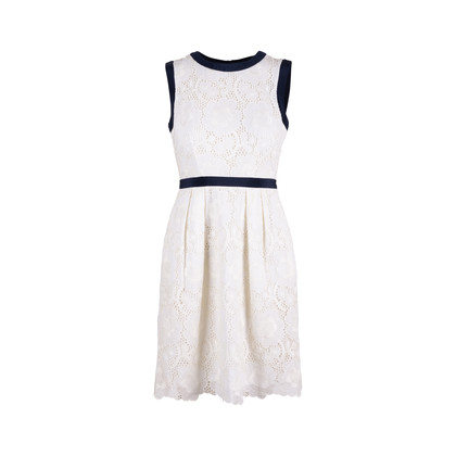 Authentic Second Hand Milly Floral Lace Dress (PSS-486-00048)