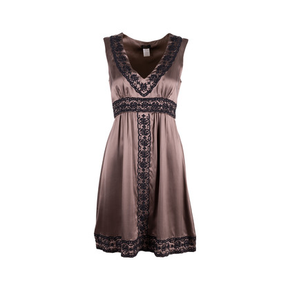 Authentic Second Hand Collette Dinnigan Embriodered Silk Dress (PSS-486-00052)