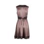 Authentic Second Hand Collette Dinnigan Embriodered Silk Dress (PSS-486-00052) - Thumbnail 1