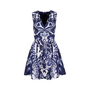 Authentic Second Hand McQ Alexander Mcqueen Abstract Print Skater Dress (PSS-486-00053) - Thumbnail 0