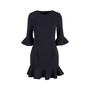 Authentic Second Hand Black Halo Bell-sleeve Flounce Dress (PSS-486-00054) - Thumbnail 0