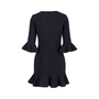 Authentic Second Hand Black Halo Bell-sleeve Flounce Dress (PSS-486-00054) - Thumbnail 1