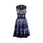 Authentic Second Hand Prada Printed Embellished Dress (PSS-486-00056) - Thumbnail 0