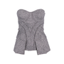 Authentic Second Hand L.A.M.B Tweed Bustier Top (PSS-486-00060) - Thumbnail 0