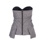 Authentic Second Hand L.A.M.B Tweed Bustier Top (PSS-486-00060) - Thumbnail 1