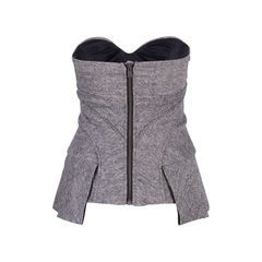 L a m b tweed bustier top 2?1555400340