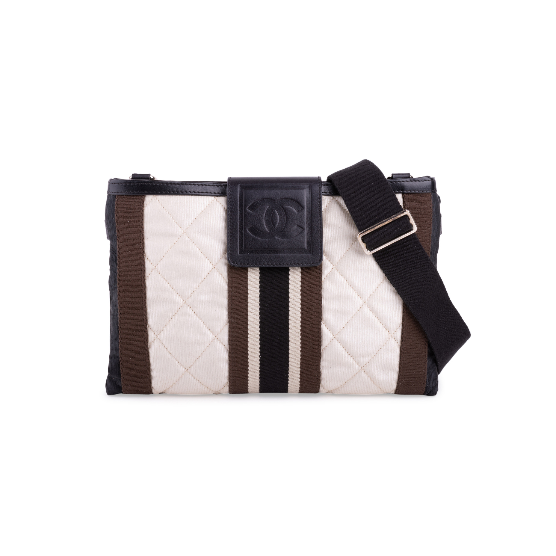 f6c93c1bc30ee1 Authentic Second Hand Chanel Sports Quilted Crossbody Bag (PSS-200-01670) |  THE FIFTH COLLECTION