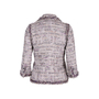 Authentic Second Hand Chanel Multicoloured Fringe-Trimmed Tweed Jacket (PSS-575-00047) - Thumbnail 1