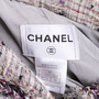 Authentic Second Hand Chanel Multicoloured Fringe-Trimmed Tweed Jacket (PSS-575-00047) - Thumbnail 4
