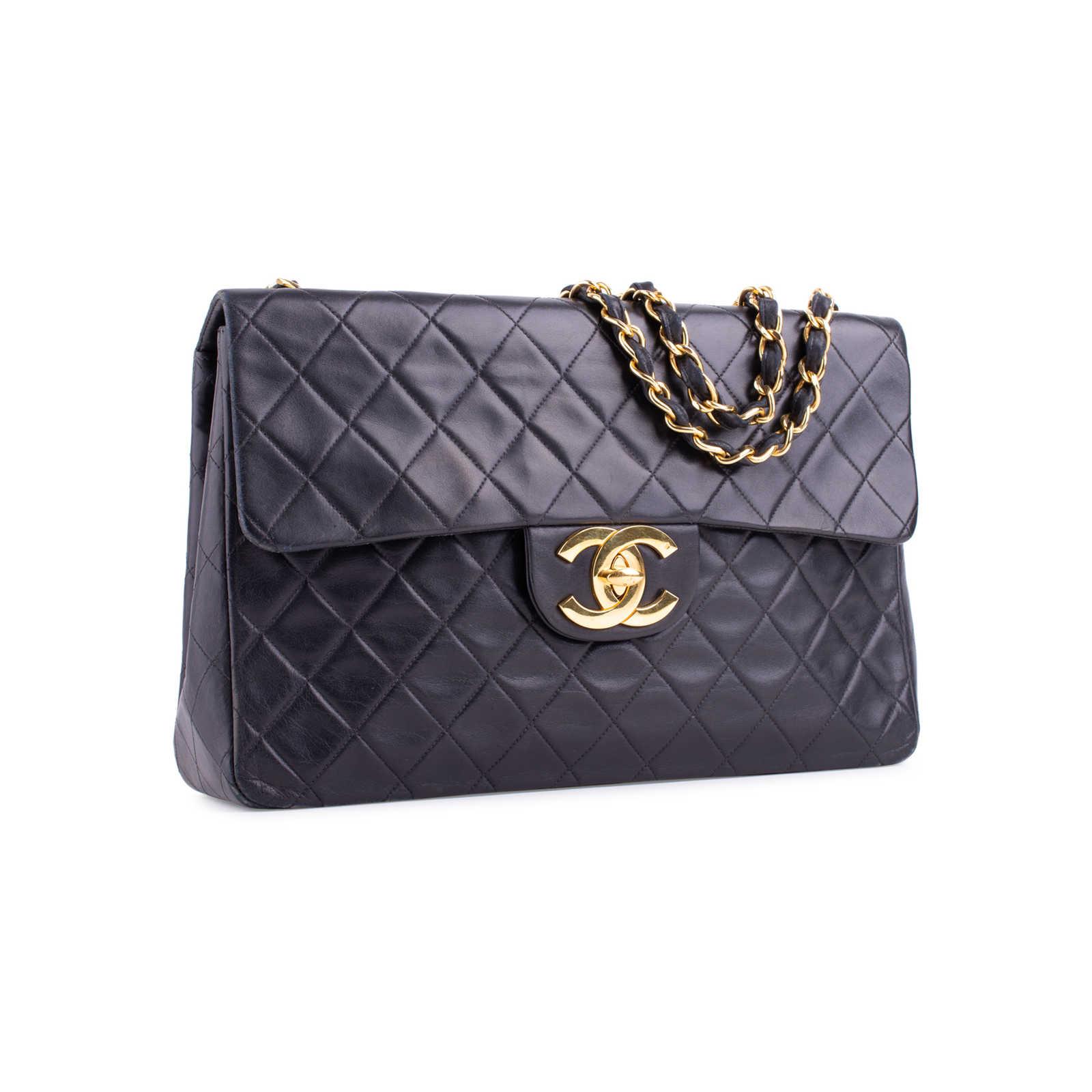 36d66d4019738c ... Authentic Second Hand Chanel Classic Maxi Flap Bag (PSS-644-00001) ...