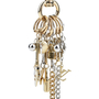 Authentic Second Hand Louis Vuitton Motif Charm Key Ring (PSS-017-00014) - Thumbnail 5
