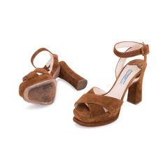 Prada suede platform sandals 2?1556175808