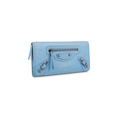 Balenciaga classic money wallet blue 2?1556182059