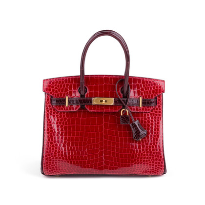 Authentic Second Hand Hermès Special Order Porosus Birkin 30 (PSS-501-00003)