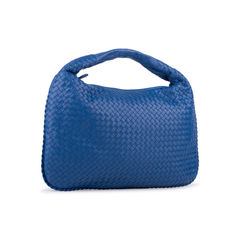 Bottega veneta intrecciato weave hobo bag blue 2?1556265419