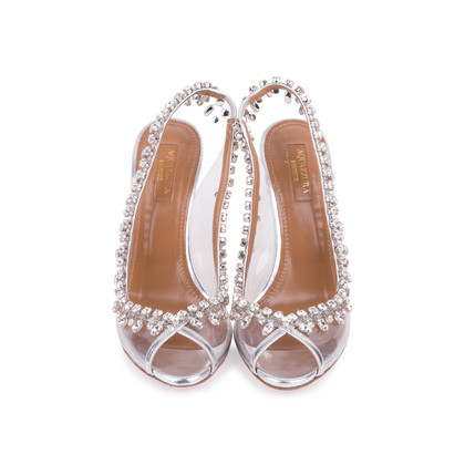 Authentic Second Hand Aquazzura Temptation Embellished Sandals (PSS-200-01689)